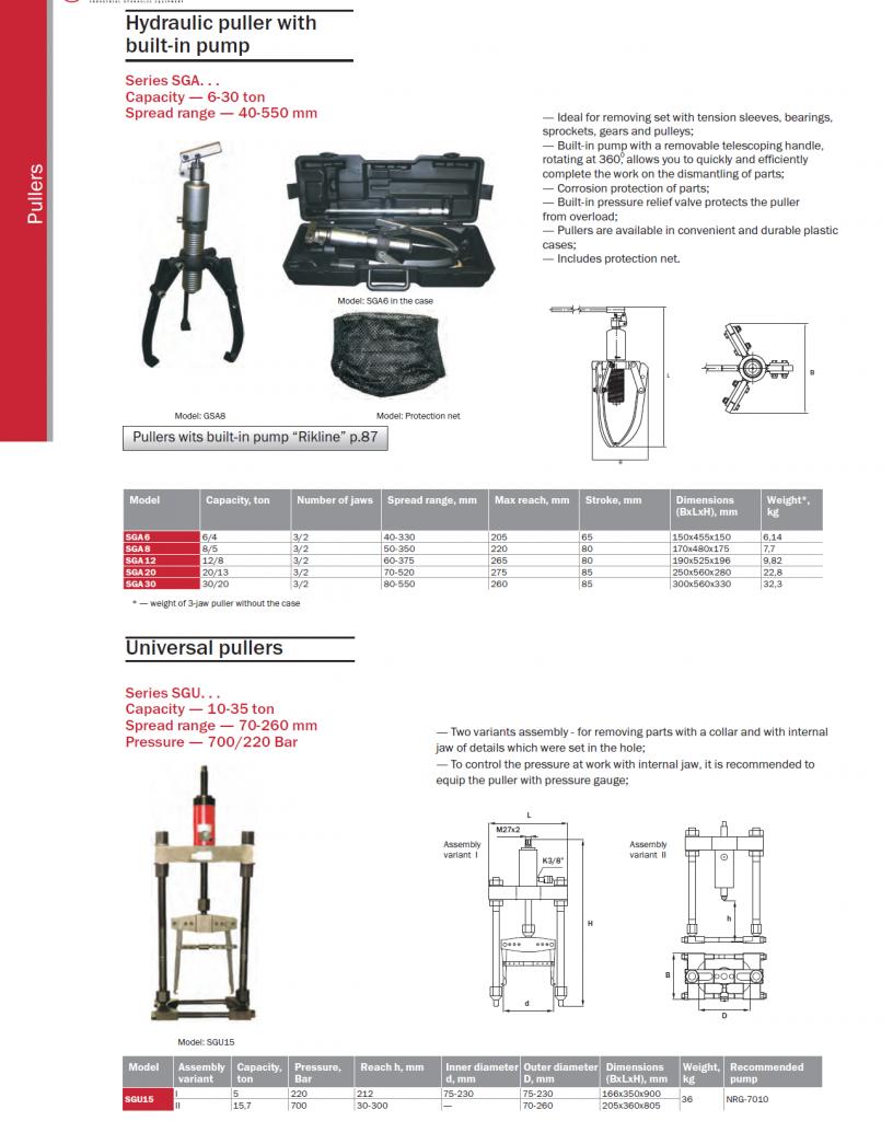 Hydraulic puller-2
